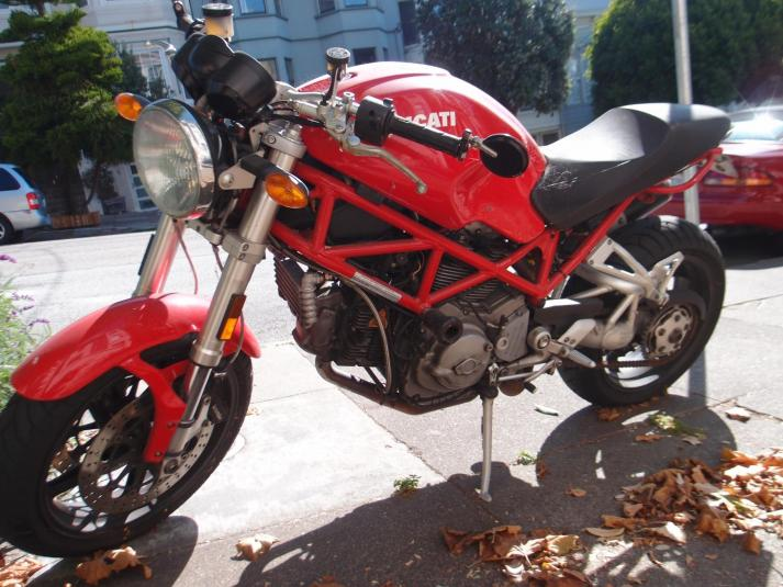 Shameful Ducati Monster