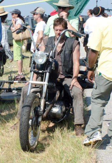 Daryl Dixon - The Walking Dead motorcycle