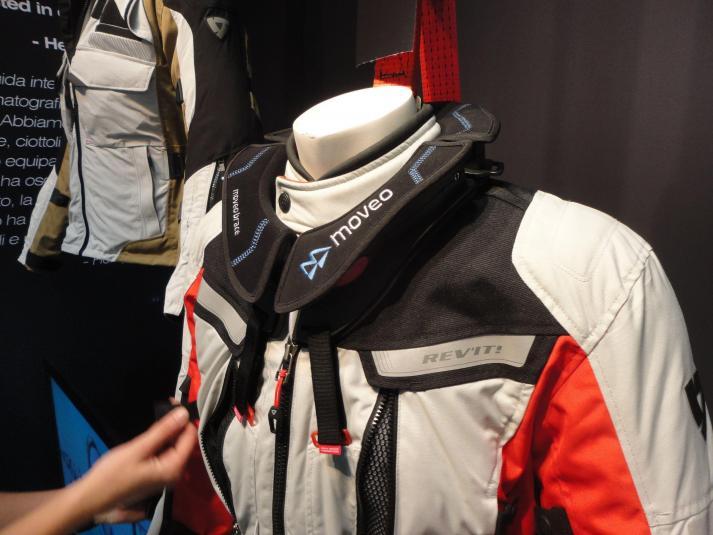 Rev'it Sand 2 incorporates neck brace technology