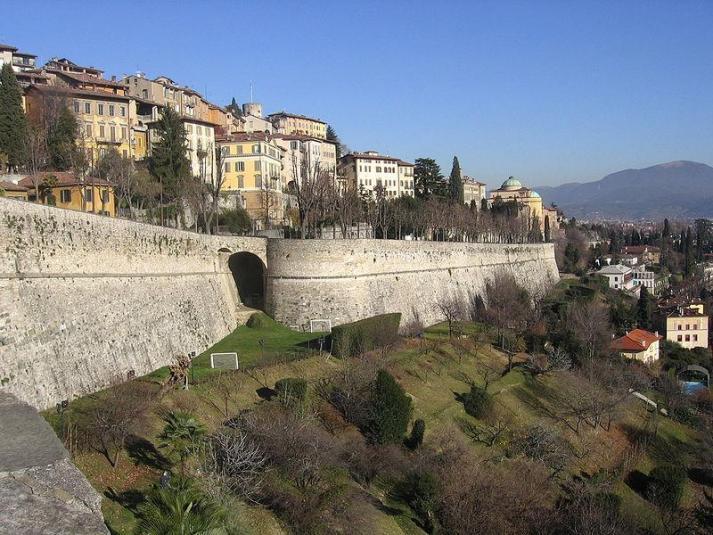 Bergamo Italy Pictures Venetian Walls Bergamo Italy