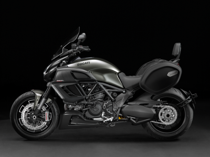 2013 Ducati Diavel Strada - left view