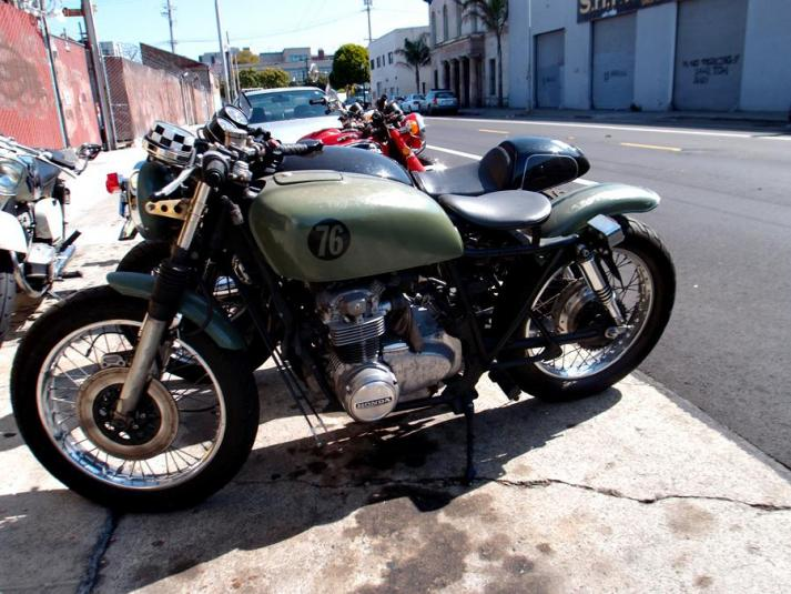 Modified 1974 Honda CB550