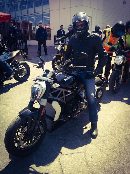 Me on the XDiavel