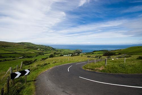 Antrim Coast Road, Ireland