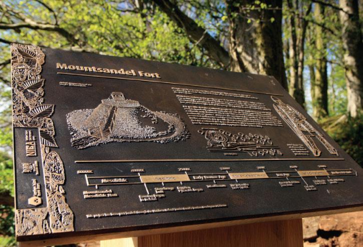 Mount Sandel Historical Site, Ireland