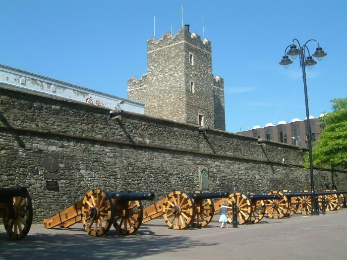 Derry City Walls, Londonderry, Ireland