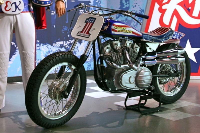 Duecilindri Evel Knievel Xr750: Harley Davidson Xr-750
