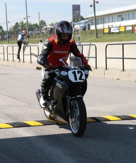 Roche Restarts Race #10 CBR250R CSBK