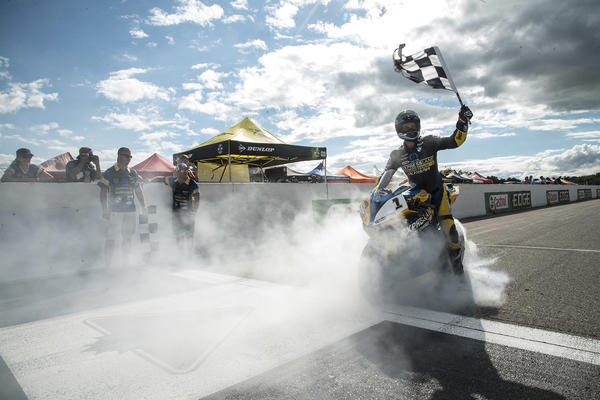 Jordan Szoke clinches his 11th CSBK Championship