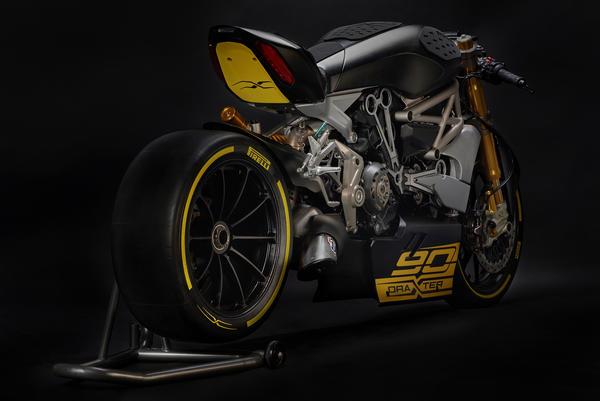 Ducati dragXter concept bike born from the XDiavel Cruiser