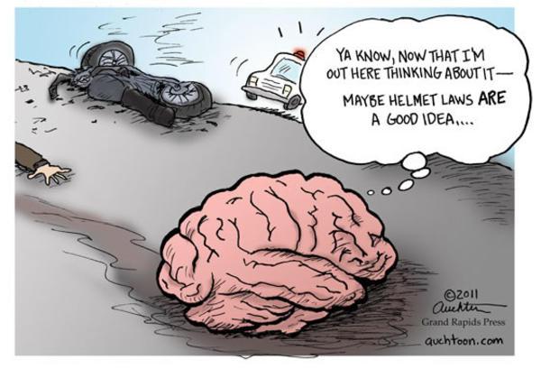 Cartoon sums up the debate.