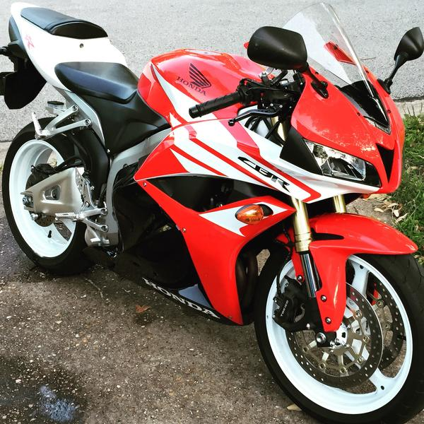Honda CBR 600 rr 2012