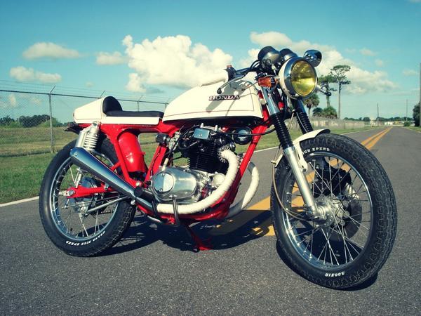 Honda CB200T Cafe-Racer