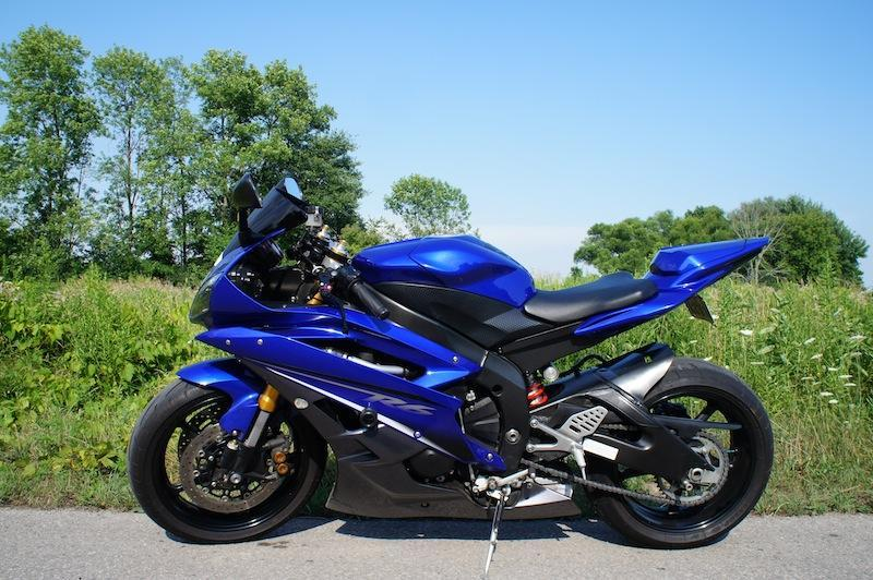 2007 R6 Wiring: Yamaha R6 2006 2007 New Horsepower Engine Chassis And Body