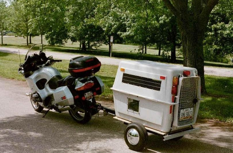 The Dogsaucer Motorcycle Trailer Eatsleepride