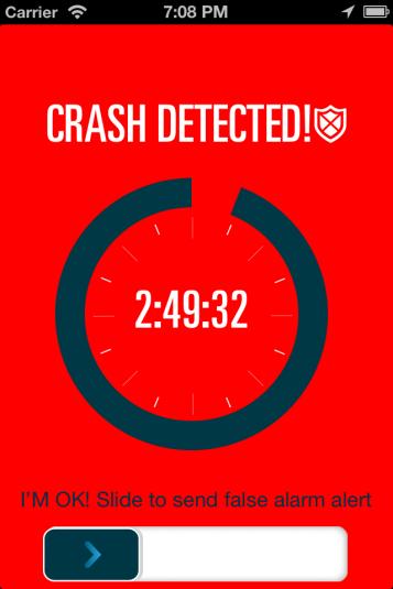 Crash Detected - EatSleepRIDE Motorcycles App