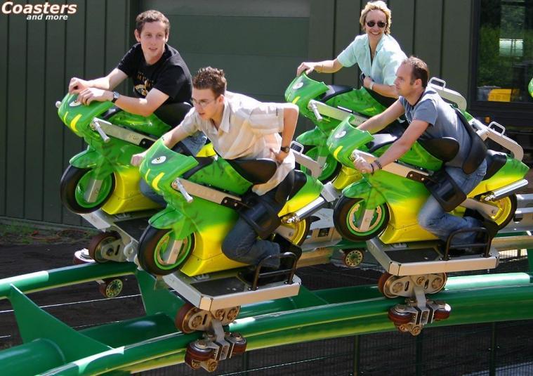 Pure Speed Motorcycle Roller Coaster Eatsleepride