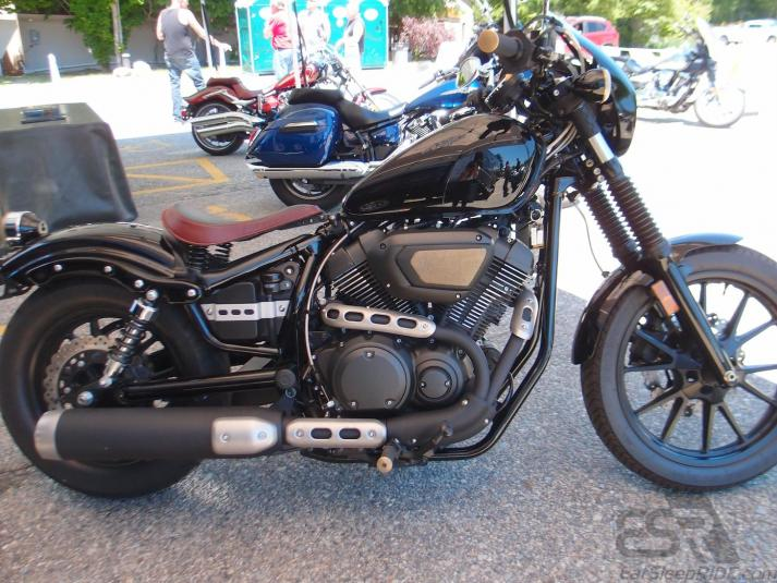 Yamaha Bolt Low And Mean Seat