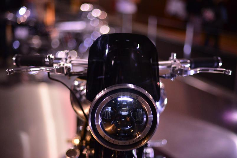Brough Superior SS100 Prototype | LED headlight