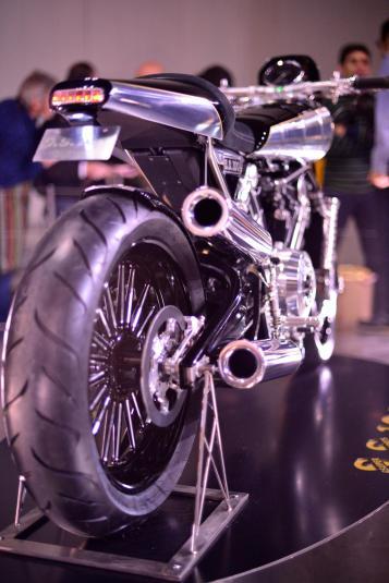 Brough Superior SS100 Prototype | exhuast