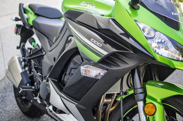 Kawasaki describe the Ninja 1000 as a