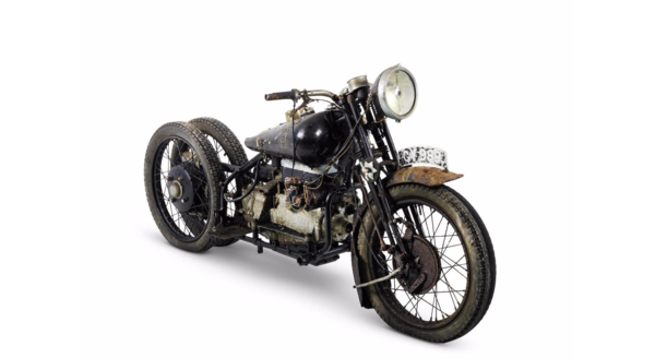 Barn find! 1938 Brough Superior 750cc BS4 sold at auction for £331,900