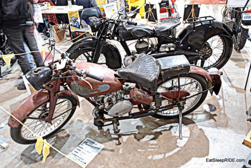 A rare James Motorcycle