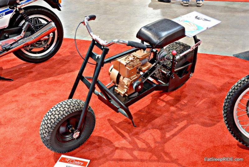 Barebones fat tire scooter
