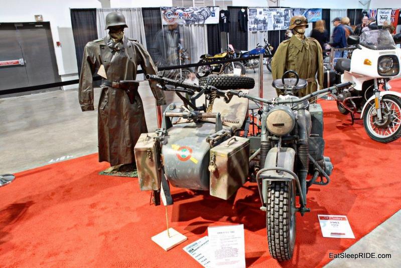 Army edition 1943 BMW R75-C