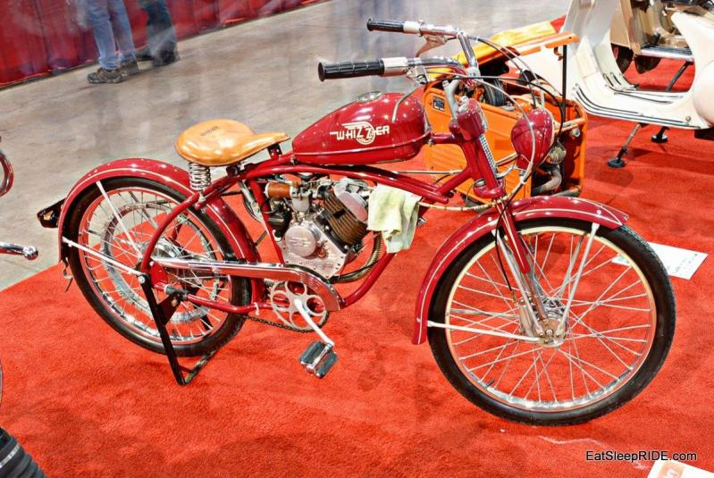Motor Assisted Pedal Bike By Whizzer Eatsleepride