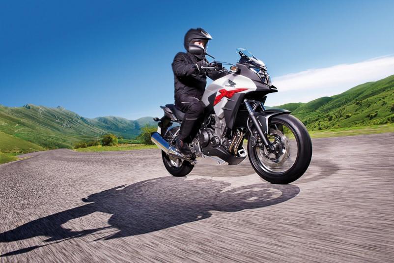 2013 Honda CB500X - in action