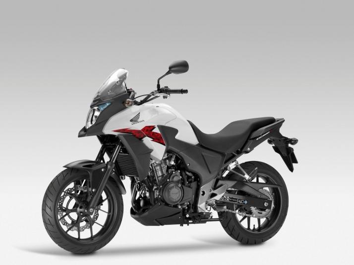 2013 Honda CB500X - front left quarter view