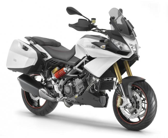 2013 Aprilia Caponord 1200 - right front quarter view