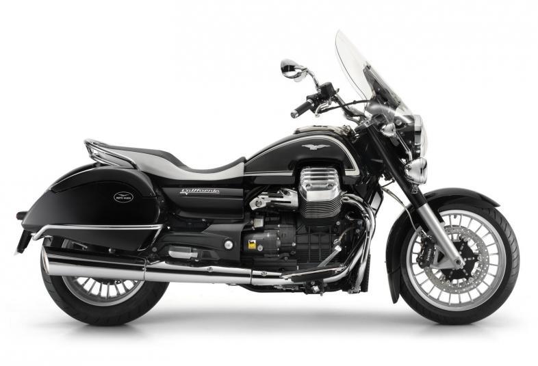 2013 Moto Guzzi California 1400 Touring Ambassador - right side view