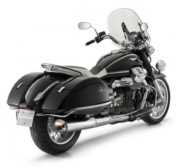 2013 Moto Guzzi California 1400 Touring Ambassador - rear quarter view