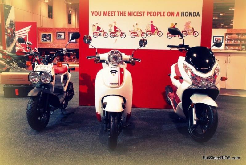 2013 Honda Ruckus, Giorno, PCX150