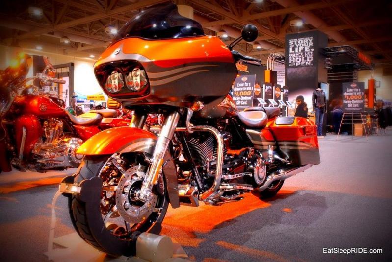 Harley Stand Toronto Show 2012