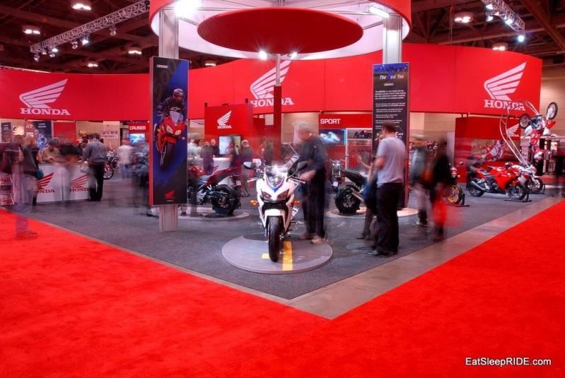 Honda Stand 2012