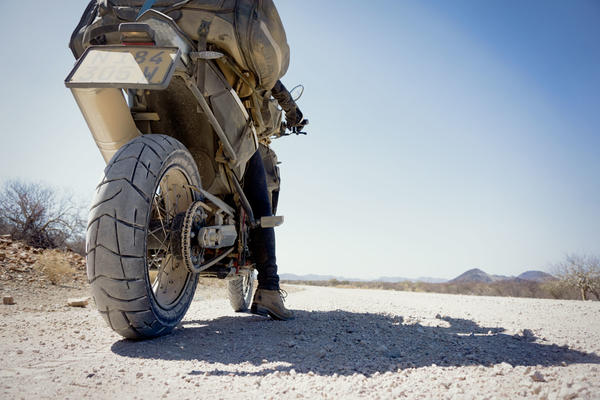Touring Namibia on a BMW F800GS