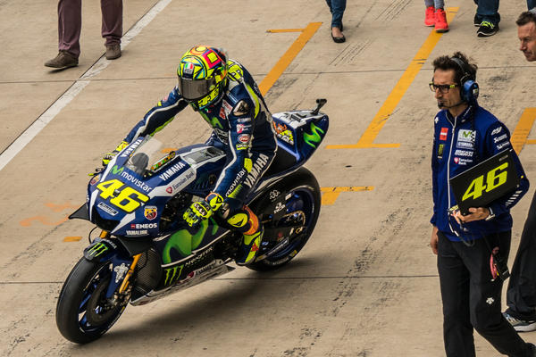 Valentino Rossi heads to the grid - Grand Prix Of The Americas 2016