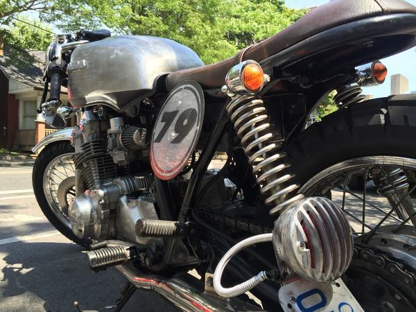 Lucky racing number 79 - Honda CB 750