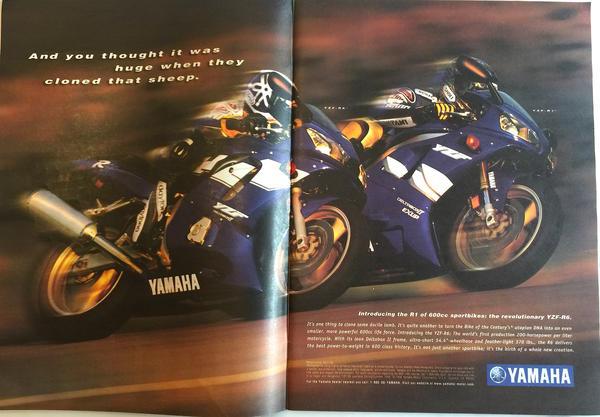 Introducing the Yamaha YZF-R6 (c.1998)