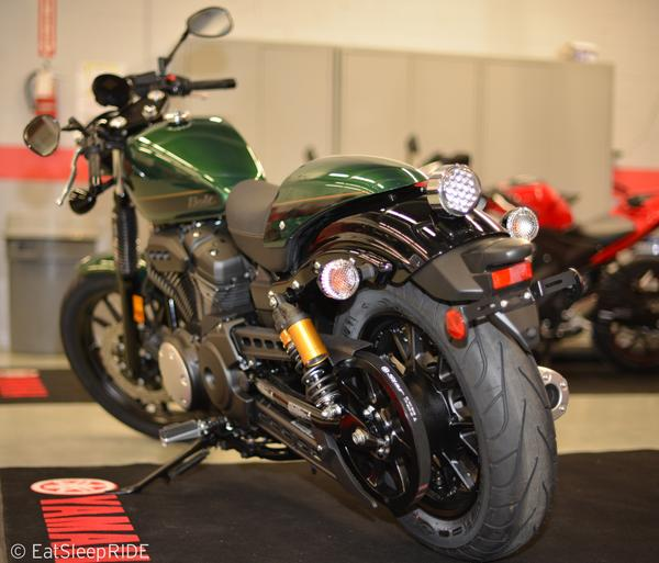 Yamaha bolt c spec in british racing green eatsleepride for Green yamaha bolt