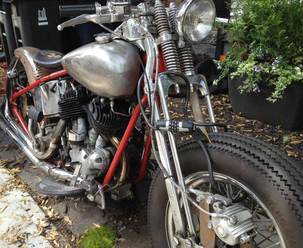 Rare 1944 U Model Harley Flathead - EatSleepRIDE