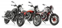 2013 Moto Guzzi V7 Stone, Special and Racer